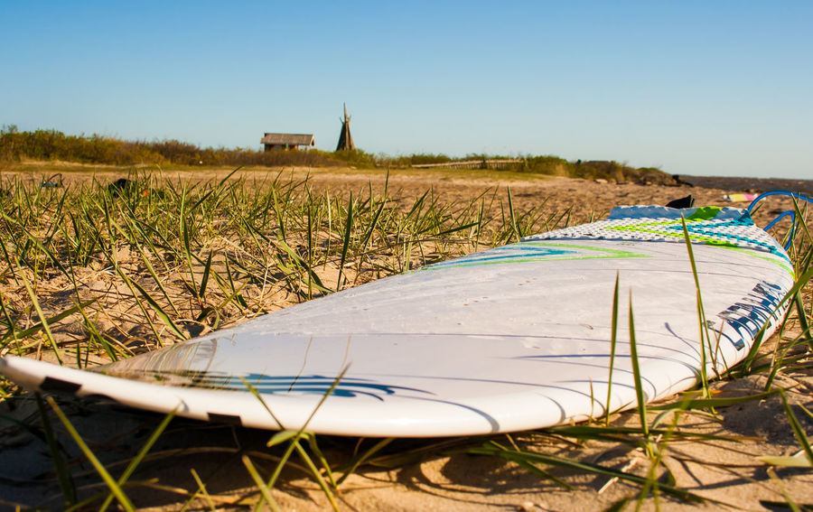 Beach Board Clear Sky Danmark Natur Day Nature No People Outdoors Surf
