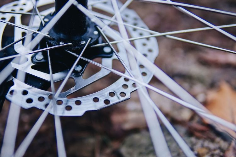 Wheel of Mountainbike Focus On Foreground No People Selective Focus Nature Bicycle Land Vehicle Detail Outdoors First Eyeem Photo