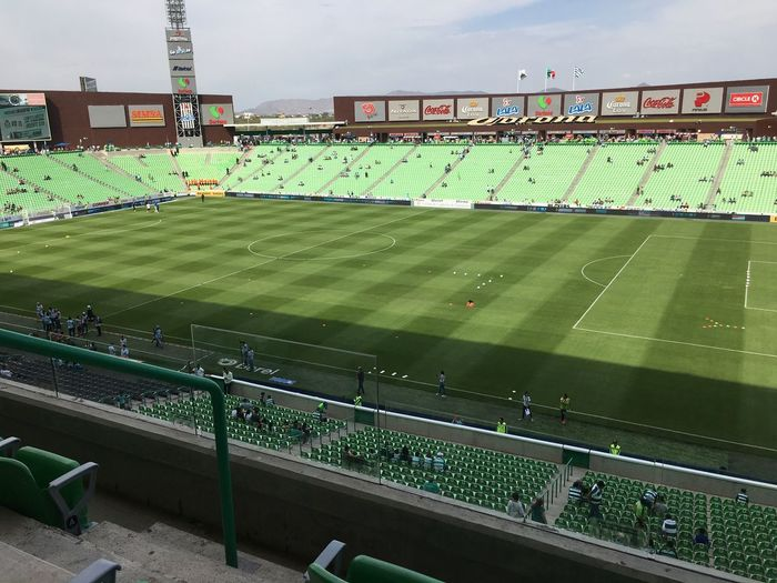Estadio Corona en TSM Mexico Green Green Color Football Sport Stadium Crowd Team Sport Soccer High Angle View Large Group Of People Grass Playing Field Soccer Field