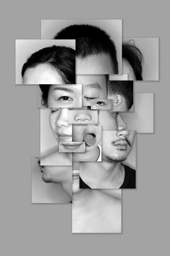 Abstract Photography Family Portrait Of A Woman Abstract Art Blackandwhite Portrait Portrait Photography