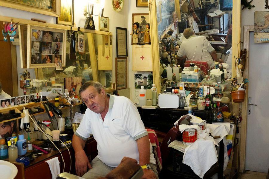 Dubrovnik, Croatia Portrait Photography Barber Shop