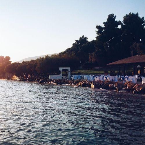 Greece Travelling Seaside Russian Camp In Greece