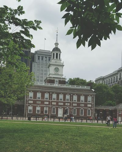 Independence Hall Declaration Of Independance