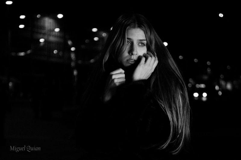 Lonely night.