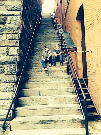 the steps from the movie Poltergeist, Washington D.C. Movie Location Landmark Landmark Building Poltergeist Staircase Staircase Photography Georgetown WashingtonDC Washington DC Washington, D. C. Architecture Sunlight High Angle View The Way Forward Shadow Day Direction Staircase Footpath Lifestyles Steps And Staircases Walking City Railing Real People