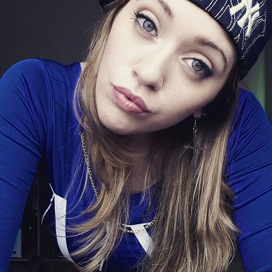 All Eyez On Me Gangstar 420everyday 420society Blonde Hair Blue Eyes. Sweet♡ Photooftheday Gangsta Style Hello World