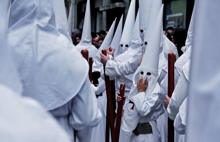 Mist In The Morning Nature Photography Outdoors Outdoors❤ Real People Semana Santa Sevilla 2013 Tranquility Uniform