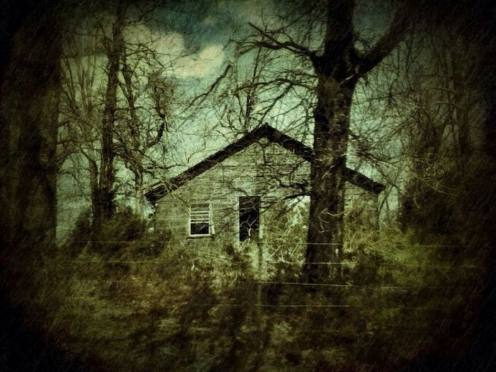 Abandoned & Derelict Dark Houses Drive By Shooting May Be A Body Inside