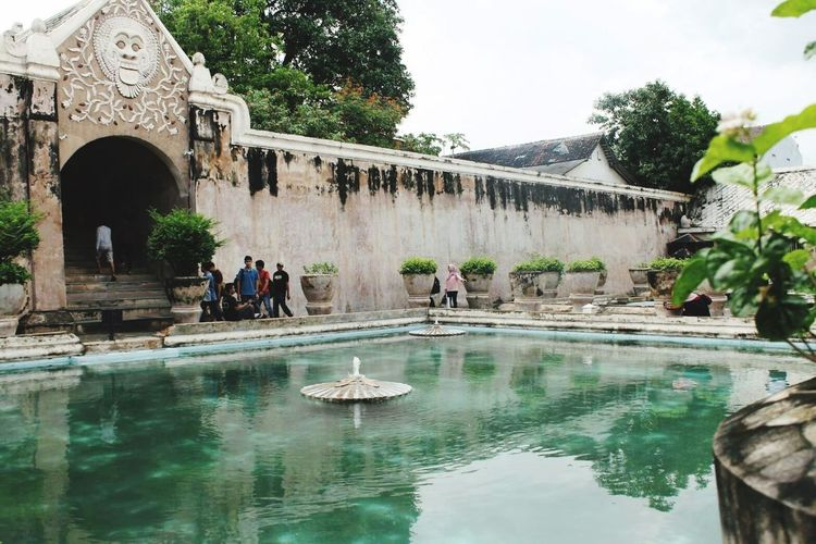 Taman Sari - Yogyakarta Travel Destinations Vacations Architecture Day