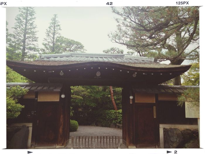 Kyoto Architecture Historical Sights