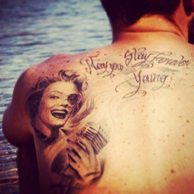 Tattoo Tattoos Skin Ivanonatale Tattooartist  Summer 2k12 Mykonos Paradise Love Pics Vintage Realistic Marilynmonore Graduate Memories Greece Greece 2014 Napoli WOW