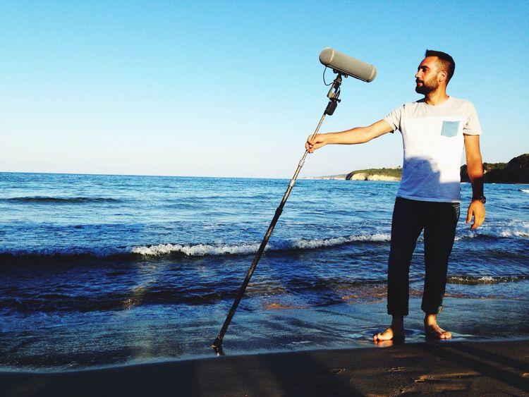 Soundcheck Soundchecking Boomoperatör Sea Hello World