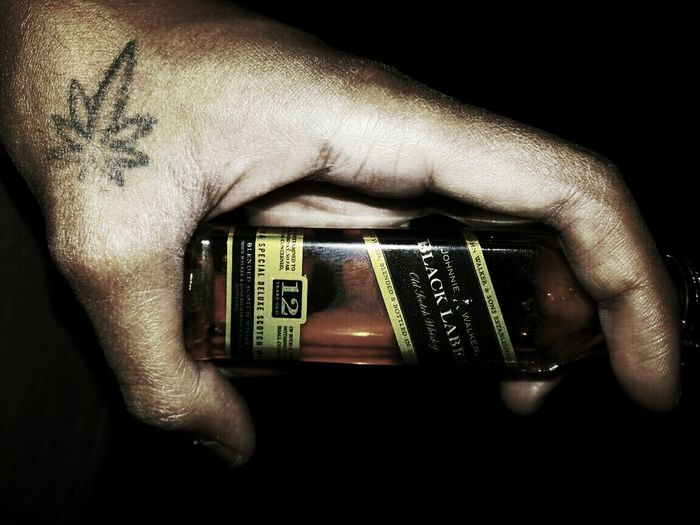 2 beg andar bhai tera sikandar *heart healing spell love with hurt lol*👌👌 Black Label Johnny Walker Whine 2 Peg Tattoo EyeEmNewHere Alcohol Beautiful Finger Scotland Weed India Love Human Hand Holding Black Background Computer Crime Men Close-up