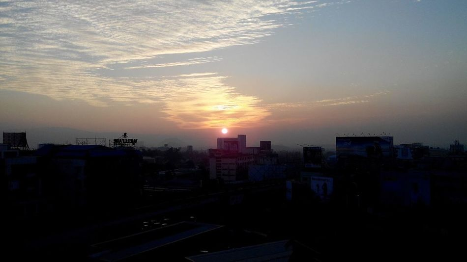Candle ( building)... Flame ( sun)... Smoke ( clouds )....!! College Study Hours Time Pass  Terrace ...!!
