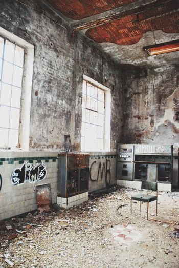 Lost Places Industry Abandoned Indoors  Messy Architecture Built Structure Unhygienic No People Dirty Damaged Bad Condition Destruction Old Ruin Domestic Room