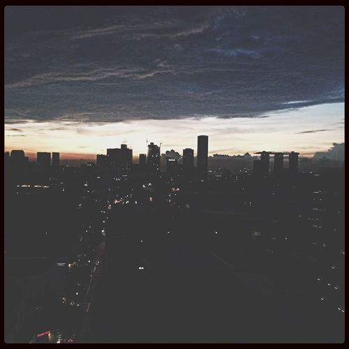 Skyline at 6.15am from 19th Floor of Hotel Jen ? First Eyeem Photo