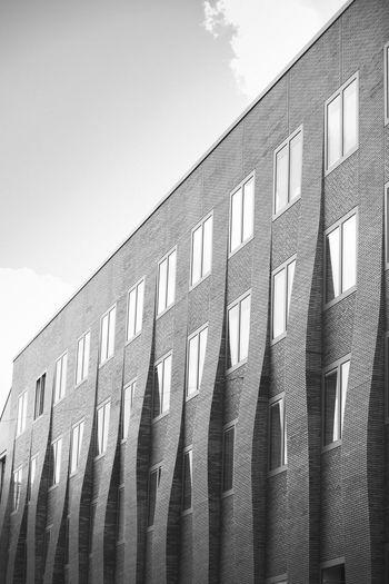 Gebäude Haus Munich, Germany München Architecture Architekur Black And White Blackandwhite Clean House, Home, Building Minimalism Modern No People Schwarz Weiß first eyeem photo