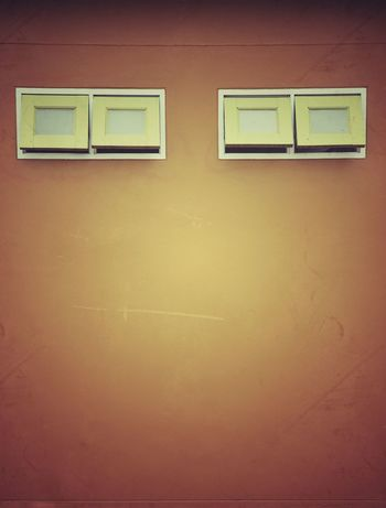 Wall - Building Feature No People Architecture Indoors  Built Structure Copy Space Door Wall Entrance Full Frame Close-up Backgrounds Orange Color Building Window Day Closed Shape Control Wall Ventilate Outdoors Old Old Town Yellow
