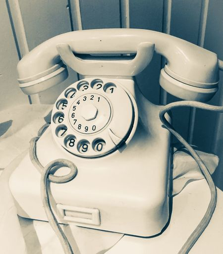 Close-Up Of Telephone