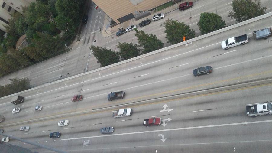Above traffic