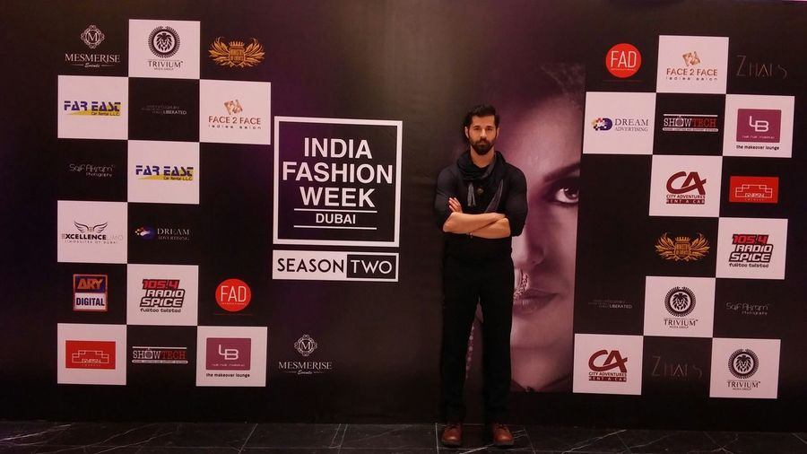 India fashion week dubai Naeemhaque Fashionshow Rampwalk