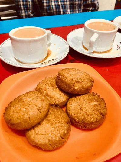 Evening Meeting Spot With Friends <3 Evening Joy Hyderabad Famous Omania Biscuits Osmania Biscuits Irani Chai Coffee Cup Food Stories