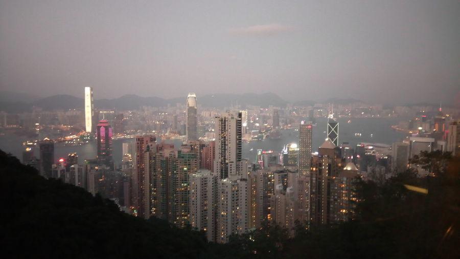 Skyscraper Cityscape Downtown District City Architecture Urban Skyline