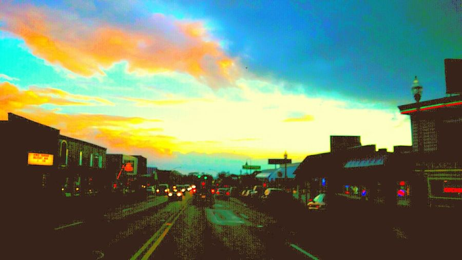 My_Photography Streetphotography Lights At Dusk Highway101
