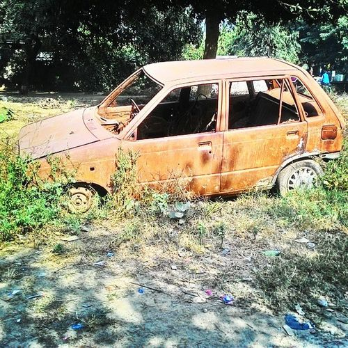 Old Vintage Luxury Car Vehicle Rust Scrap Photography Maruti
