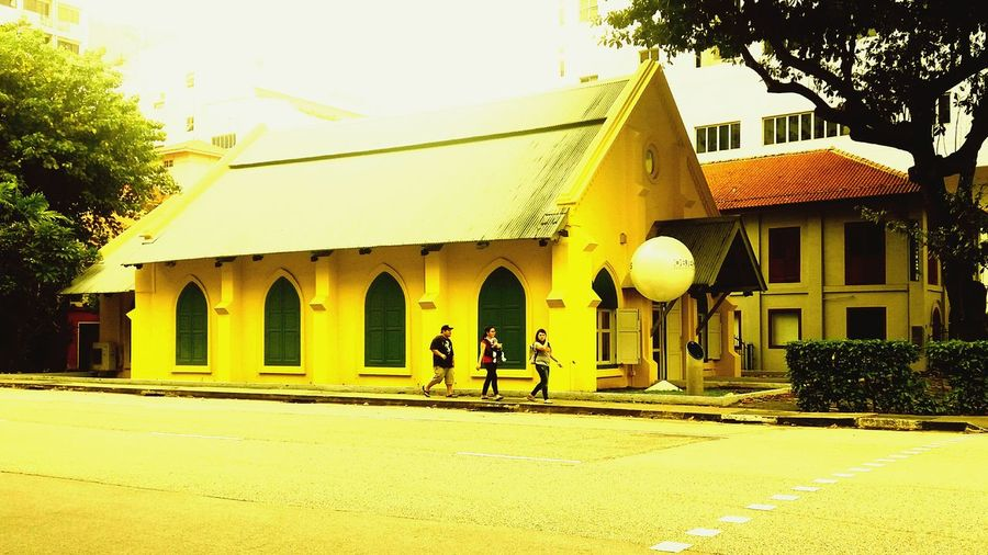 All Yellow Check This Out Taking Photos Architecture Singapore Building History Instadroid OpenEdit Fromwhereistand Photooftheday Art Rythm