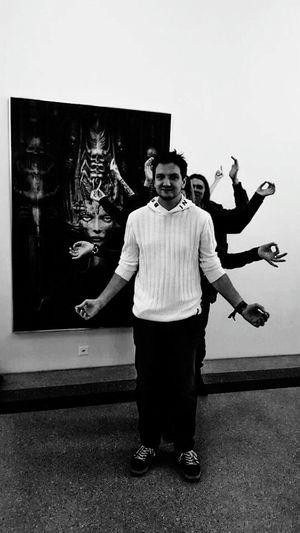 Kunstmuseum H.R. Giger Portrait Kunst Ist Was Du Daraus Machst Hrgiger Aliens Picoftheday Blackandwhite Hanging Out With Friends