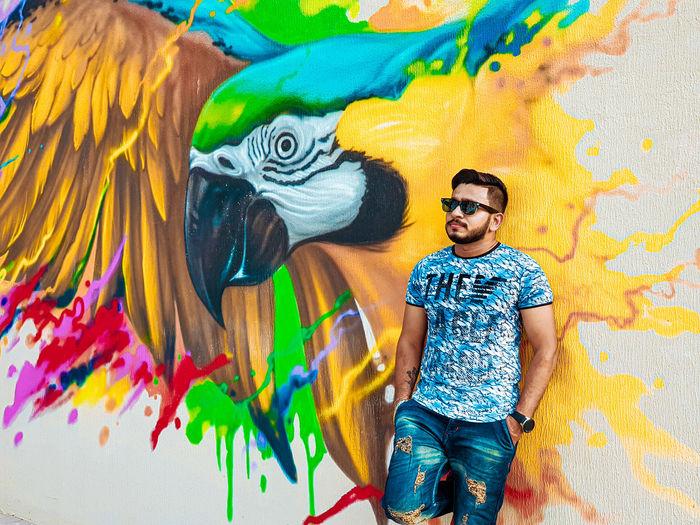 Art wall,