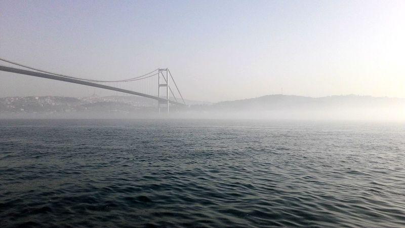 Konstantinapolis Sarıyer Istanbul Turkiye TurkeyTravel Bridge - Man Made Structure Sis Nature Bosphorus, Istanbul Outdoors City
