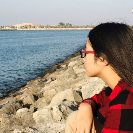 Sea Dubai Alone Time Deep Relaxing Thinking EyeEm Blue Wave Nature EyeEm Nature Lover Capture The Moment A Long Time Ago