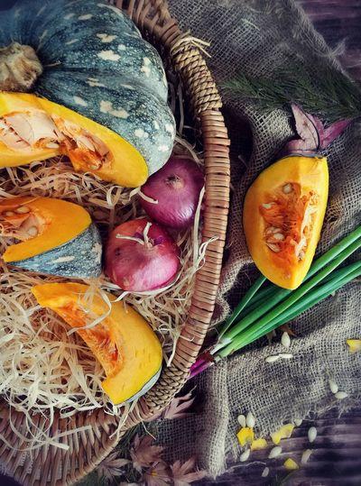 Vegetabl Vegetables Of EyeEm Vegan FoodPumking Veganlifestyle Pumkingsoup Plant Food In Basket EyeEm Selects Healthy Eating No People