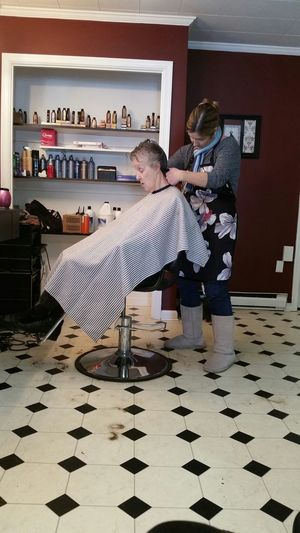 Precision Intricate New Haircut Mil Mother In Law