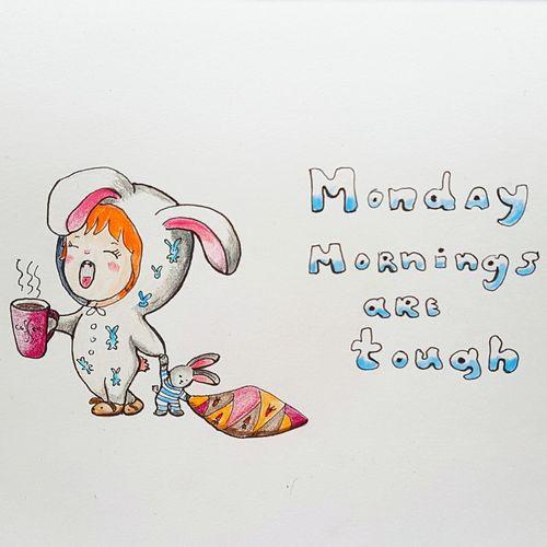 Drawing Sketch Doodle Chibi Chibigirl Monday Mondaymorning Monday Morning Pencil Pencildrawing Paper Doodle Sketch