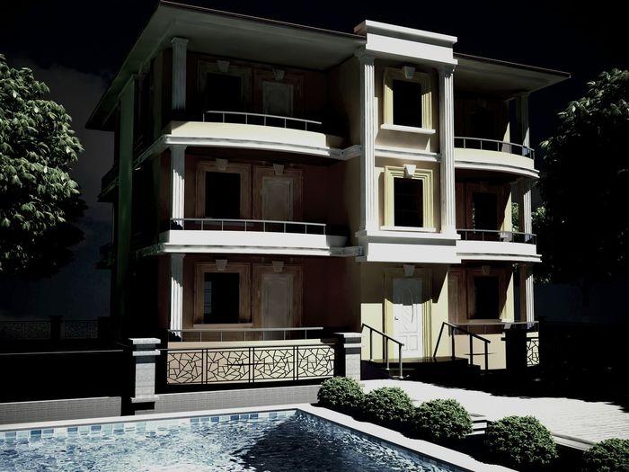 3D max Villa
