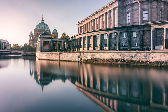 Berlin Cathedral | Berlin, Germany 2016 Architecture Berlin Berliner Dom Building Exterior Built Structure City City Life Day Dome Famous Place Berlin Germany History Museumsinsel No People Outdoors Reflection River Riverbank Sky Spree River Standing Water Travel Destination Urban Icon Water Waterfront Fresh On Market 2016