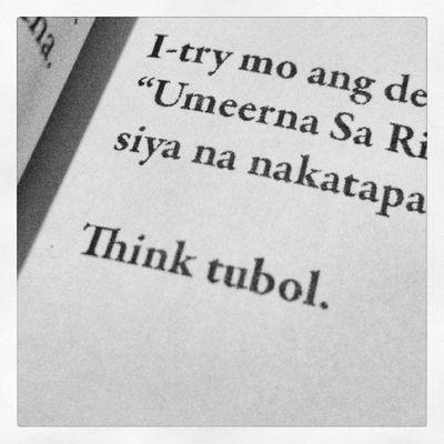 Tama na ang kaiisip sa mga walang kwentang tao at bagay. Mas magandang ito na lang ang gawin. ???