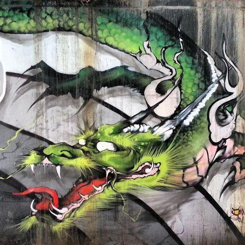 Graffiti Streetart Awesome Gajin Fujita