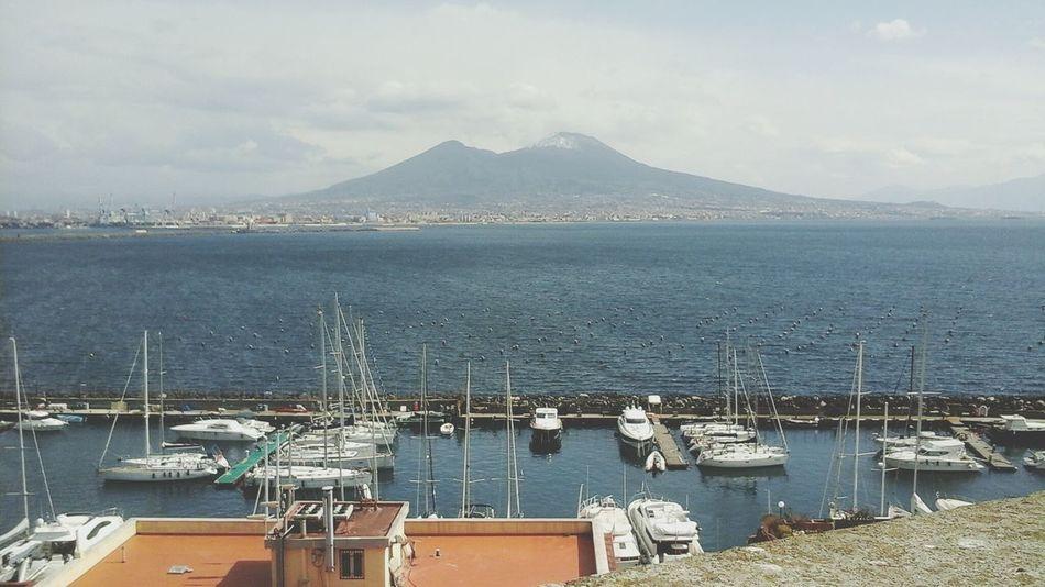 Napoli ❤ Photography Sea Naples🌊💙 Love It Beautiful Verygood Sunny Day Amazing_captures
