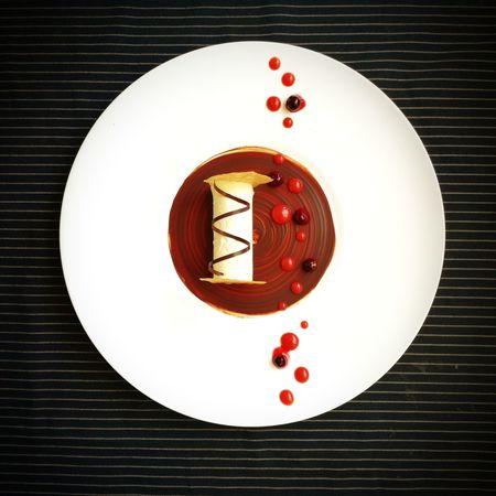 Pafait Red Dessert RespberriesDirectly Above Blackberries Plating Dessert No People Indoors  Day