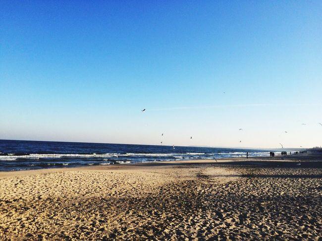Beach Seaside Danzig Sopot