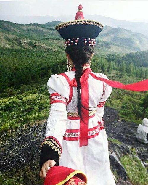 ASIA Asian Culture Nature Beautiful Buryatia, Russia, Ulan-Ude Бурятия Sky Girls Asian  Asian Beauty Asian Girl