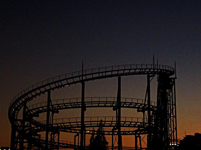 Jetcoster Amusementpark Themaparks ジェットコースター かしいかえん 遊園地 Evening Evening Sky Sky Sky_collection
