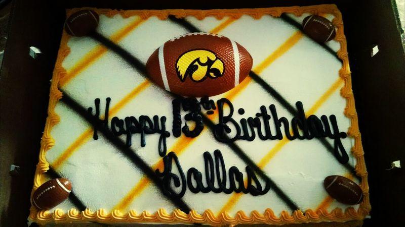 Happy 13 Birthday Dallas! Lets Go Hawks