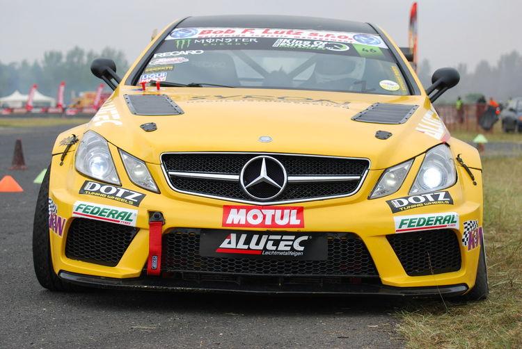 Corinna Gräff Drift Car Drifting Drifting Car Federal Tires King Of Europe Mercedes E500 V8 Motul Nikon D40x Tököl Airport Tököldrift