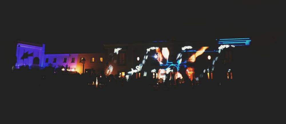 Arts Culture And Entertainment Music Nightlife Night Performance Illuminated Large Group Of People Event Enjoyment Stage - Performance Space Audience Stage Light Excitement Youth Culture Lumina Lumina 2016-festival Da Luz Luminale 2016 Cascais Portugal