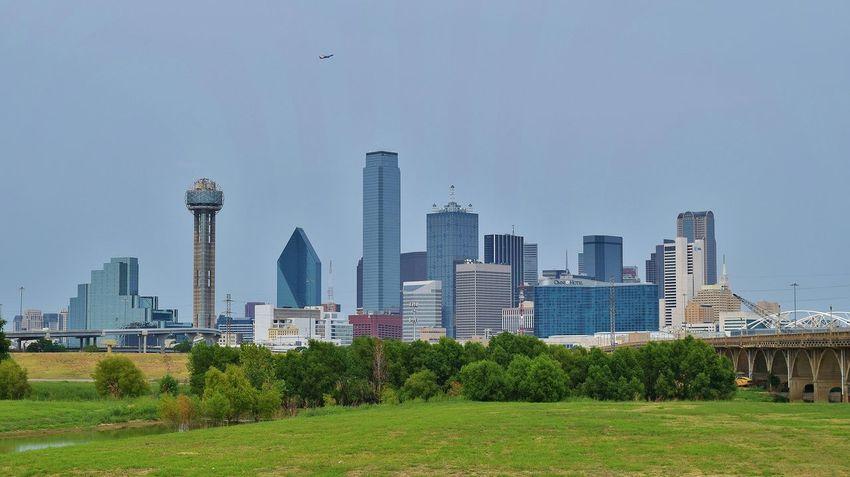 Dallas Dallas Skyline